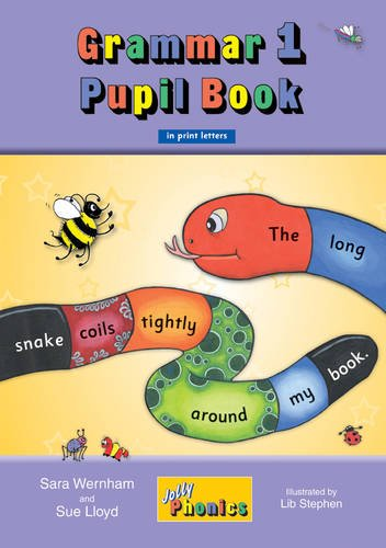 Grammar 1 Pupil Book: In Print Letters (British English edition) (Jolly Learning)