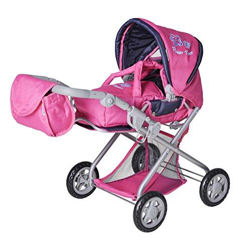 knorr-61866-kyra-cochecito-de-bebe-de-juguete-color-rosa