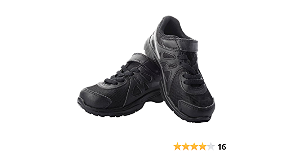 Buy Nike School Boy's Black Shoes (3 to