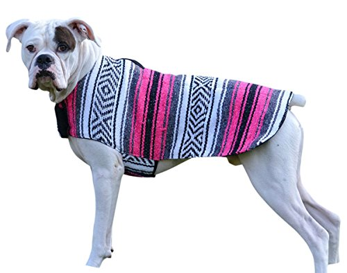 ten Mexikanischen Sarape Hund Pet Poncho Kostüm, X-Small, Rose ()