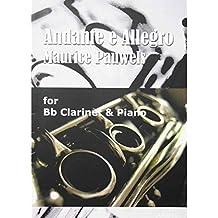 Andante e Allegro - Maurice Pauwels - Clarinette Sib et piano