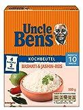 Uncle Ben's Reis-Spezialitäten Basmati & Jasmin-Reis Kochbeutel