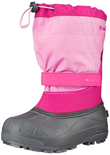 Columbia CHILDRENS POWDERBUG PLUS II Unisex-Kinder Trekking- & Wanderstiefel, Pink (Glamour/Orchid 640Glamour/Orchid 640),25 EU