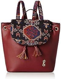 global desi Women's Handbag (Burgundy)