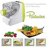 Pastarixx Elektrische Nudelmaschine, Pasta Maschine, Pasta-Maker, Nudelvollautomat - Küchenmaschine für selbstgemachten Nudelteig