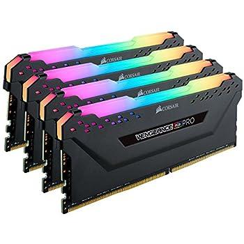 Corsair Vengeance RGB PRO Black DDR4-RAM 3600 MHz 4x 8GB memoria