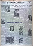 PETIT PARISIEN DERNIERE EDITION DE 5 HEURES (LE) [No 20760] du 31/12/1933