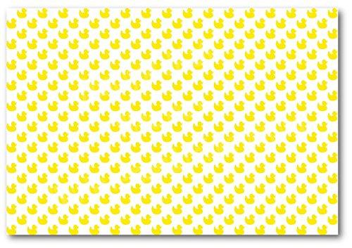 A4-silikonformkuchendekoration, Kuchen Topper Tapete Hintergrund-ndw52gelb Enten Baby Dusche
