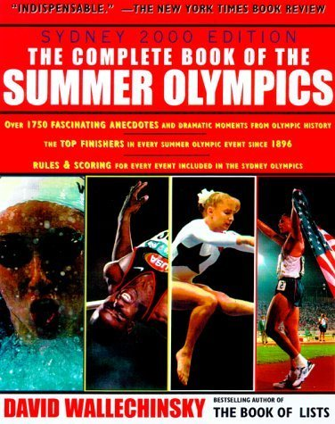 Complete Book of the Summer Olympics by David Wallechinsky (2000-03-01)
