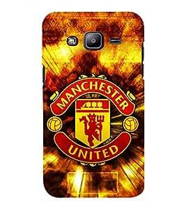 D KAUR Manchester United Back Case Cover for Samsung J2::Samsung Galaxy J2