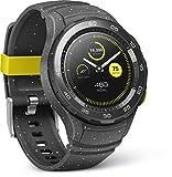 Huawei Smartwatch 2 mit Bluetooth, Sport Band concrete-grau