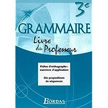 GRAMMAIRE BORDAS 3E GP 2003