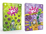Outletdelocio. Pack Juego de Cartas Virus + Expansion Virus 2...