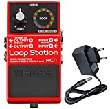 BOSS RC de 1 Loop Station Looper Pédale de keepdrum Alimentation 9 V