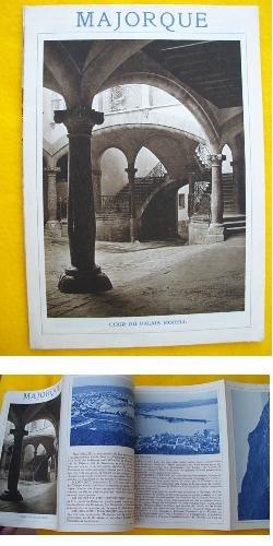 Folleto Turismo - Tourist Brochure : MAJORQUE - MALLORCA