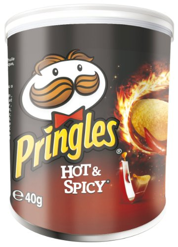Pringles Hot and Spicy, 12er Pack (12 x 40 g)