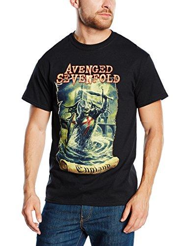Avenged Sevenfold Herren T-Shirt England Schwarz