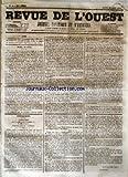 Telecharger Livres REVUE DE L OUEST No 49 du 24 04 1855 JOURNAL POLITIQUE ET D ANNONCES (PDF,EPUB,MOBI) gratuits en Francaise