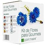 Plant Theatre Kit de Flores para Gourmets - 6 variedades comestibles de...