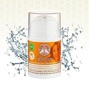 Mariola – Crema Facial Hidratante Anti-Edad/Manchas/Arrugas con Protección Solar, Aloe Vera, Ácido Hialurónico y Vitamina E, 50 ml