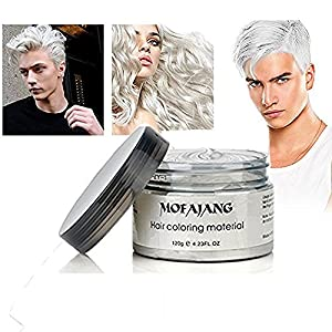 YiKiMira – Cera para peinados, con color