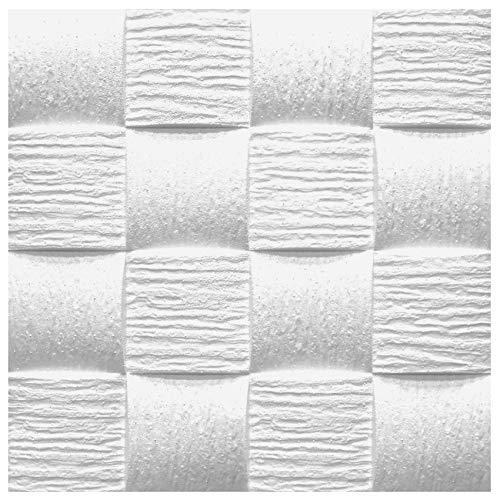 10 qm   Deckenplatten   EPS   formfest   Marbet   50x50cm   Welle2