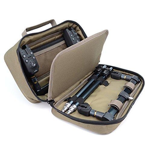 Karpfenangeln Buzz Bar Tasche für Banksticks Rod Pod Bissanzeiger Größe 20x 33x 10cm