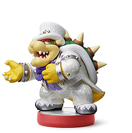 Bowser (Wedding outfit) Amiibo: Super Mario Odyssey (Nintendo Wii U/Nintendo 3DS/Nintendo Switch)