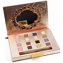 Paleta de sombra de ojos profesional, la bella y la bestia de la marca Lorac.