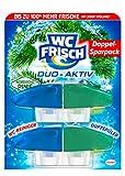 WC Frisch Duo Aktiv Duftspüler Exotische Limette & Minze Nachfüllpack, 4er Pack (4 x 2 Stück)