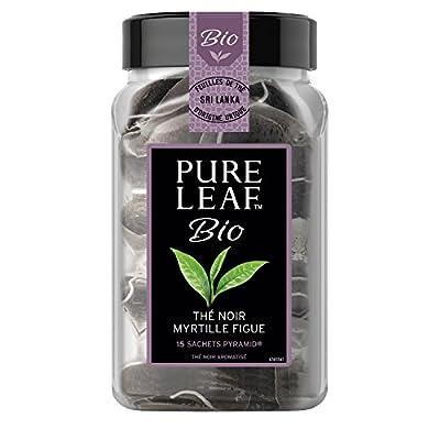 Pure Leaf Thé Noir Myrtilles/Figues 15 Sachets 330 g - Pack de 3