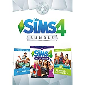 Die Sims 4 Bundle – Zeit für Freunde, Wellness Tag, Movie Hangout Accessoires DLC | PC Download – Origin Code