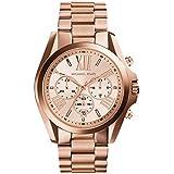 Michael Kors MK5503 - Reloj de cuarzo con correa de acero inoxidable para mujer, color rosa