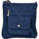 Exotique Women's Sling Bag (Blue, CW00022BL)