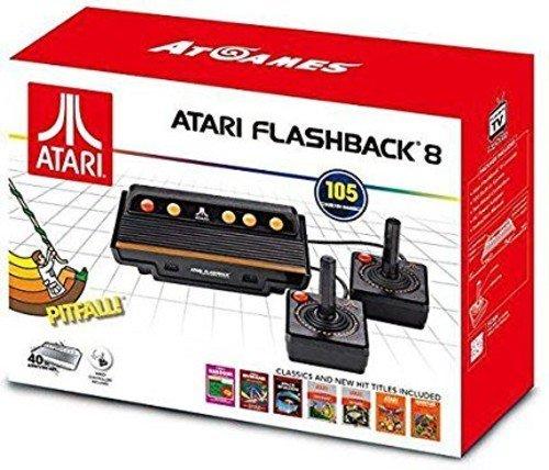Foto Atari Flashback 8 Black, Orange, Red - Game Consoles (NES / SNES, Flash, 100 - 240, 50 - 60, Black, Orange, Red, AV)