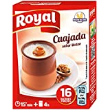 Royal - Cuajada - Sabor lácteo - 16 raciones - [Pack de 10]