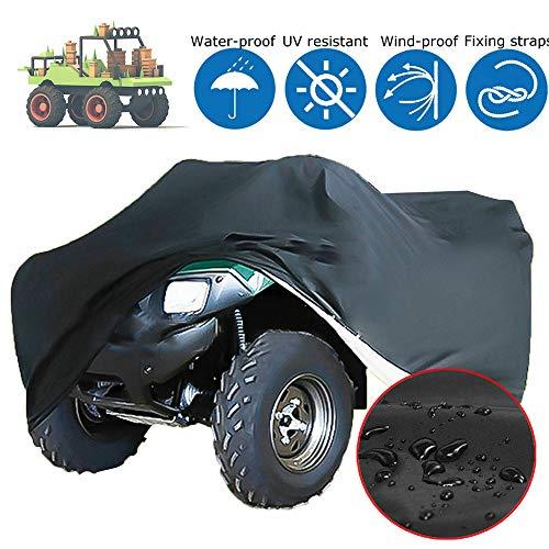 Rasenmäher Cover, 54 Zoll Heavy Duty 600D Polyester Oxford, Wasserdicht UV-Beständig Abdeckung Für Garten-Traktor, Mit Aufbewahrungstasche