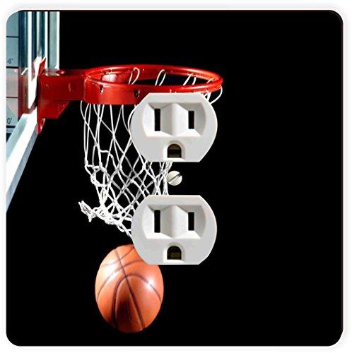 Rikki Knight Basketball in Hoop einzigen Steckdose Teller