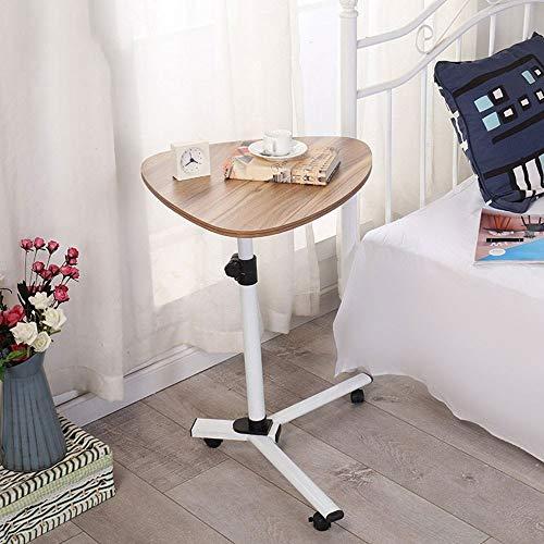 Anah Overbed Tisch mit Rädern Rolling Laptop Tisch Overbed Schreibtisch Rolling Laptop Ständer Over Bed Schreibtisch Rolling Laptop Schreibtisch mit Rädern -