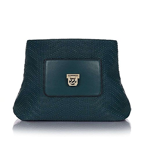 Numeroventidue BODY LADY MED PUMP Borse Accessori Blue Green