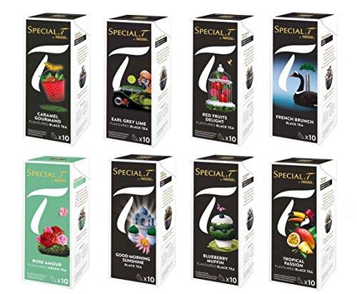 Original Special T - Creations Collection - 80 Kapseln / 8 Sorten für Nestlé Tee Maschinen - hier bestellen - gemischtes Sortiment / Mix