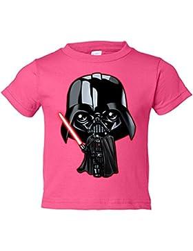 Camiseta niño Star Wars Darth Vader Kawaii
