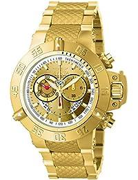 Invicta Subaqua Analogue Gold Dial Men's Watch - INVICTA-5403