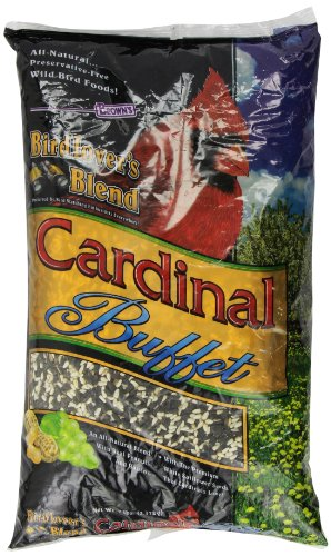 F.M. Brown's Bird Lover's Blend Cardinal Buffet Wild Bird Food, 7-Pound by F.M. Brown's (Brown Food M F Bird)