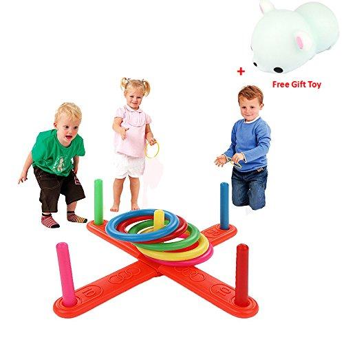 Rcool Baby Kid Hoop Ring Toss Pl...