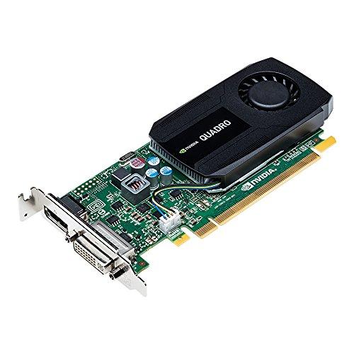 PNY NVIDIA QUADRO K420 professionelle Grafikkarte 1 GB GDDR3 PCI-Express Low Profile DP + DVI, VGA (VCQK420-PB)