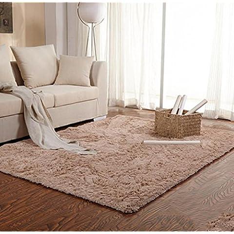TBQING Puerta puerta mat alfombra dormitorio cocina Hall almohadilla absorbente mat . camel . about 0.5*1.6 m