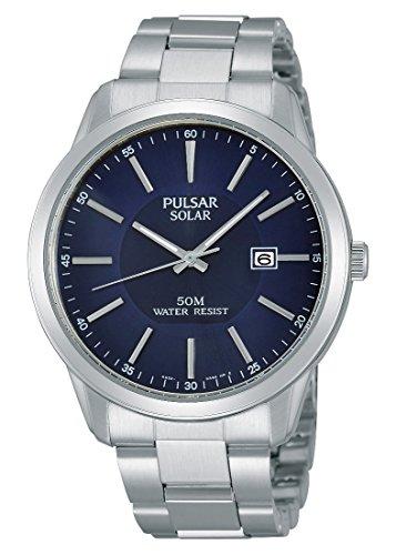 Pulsar Men's Watch XL Analogue Quartz Stainless Steel Modern PX3021 x 1