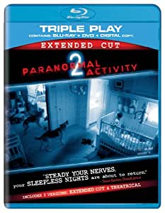 Paranormal Activity 2 - Triple Play (Blu-ray + DVD + Digital Copy) [2010] [Region Free]