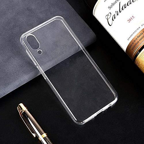 Easbuy Transparent Handy Hülle Soft TPU Silikon Case Etui Tasche für UMI UMIDIGI One One Pro Smartphone Bumper Cover Handytasche Handyhülle Schutzhülle